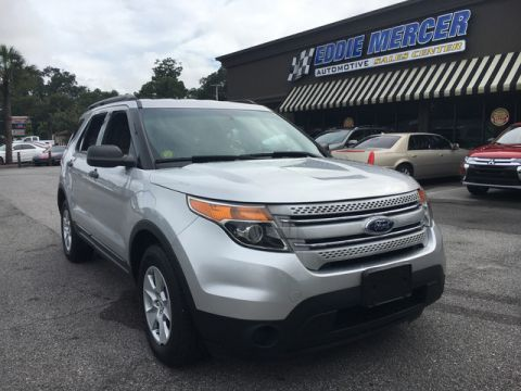 Pre-Owned 2013 Ford Explorer FLEX FUEL 4WD