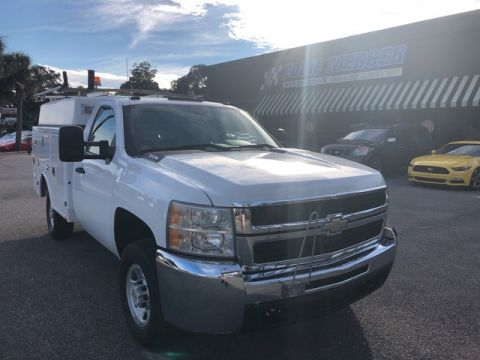 Pre-Owned 2008 Chevrolet Silverado 2500HD Work Truck